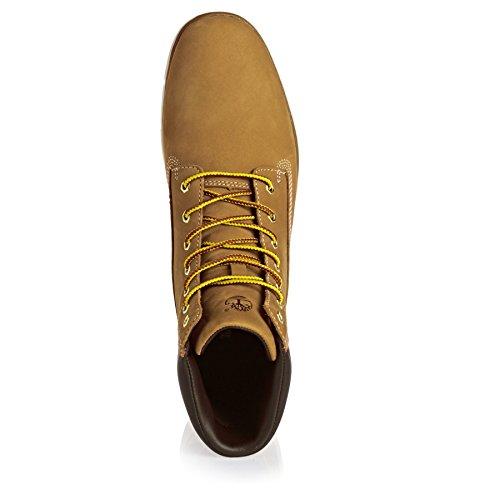 impermeables A17M9 TIMBERLAND Wheat mujeres las amarillas cuero botas amarillo zapatos trigo de wvCqd5q