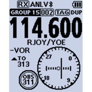 Icom IC-A25N VHF Airband Transceiver (NAV & COM channels) by Icom (Image #5)