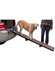 Pet Gear Tri-Fold Ramp 71 inch Pet Ramp supports 200LBS,Choco...