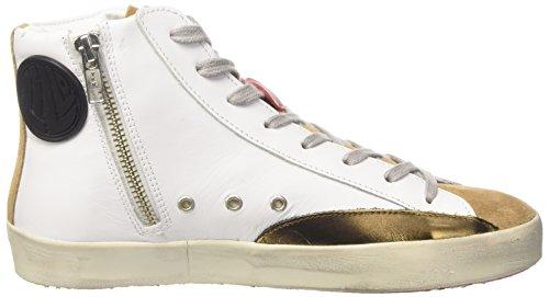 Ishikawa High, Sneaker a Collo Alto Unisex-Adulto bianco