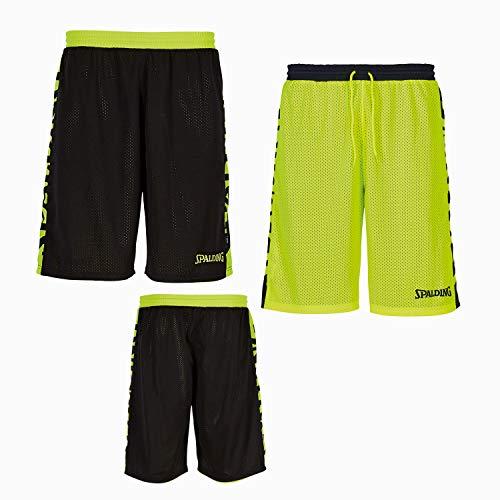 Größe fluo Spalding Reversible Farbe Essential schwarz Shorts s Gelb qtO6txU