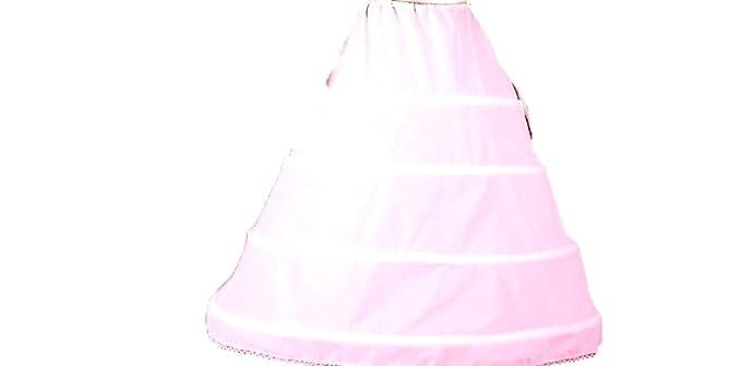5726a22bcedac 4 Bone Hoop Skirt Wedding Slip Bridal Petticoat (CH140DS)