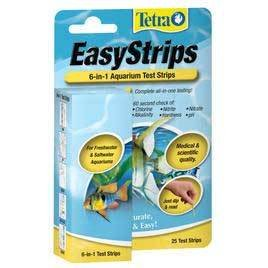 Tetra Pond 19542 6-in-1 EasyStrips Test Strips 25 Count by Tetra