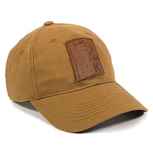 Elk Cap - Rocky Mountain Elk Foundation Duck Brown Hunting Hat
