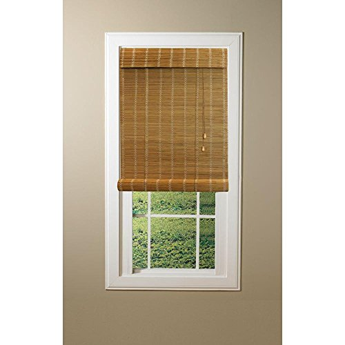 Nutmeg Simple Weave Rollup Shade, 72 in. Length (Price Varies by - Shades Price