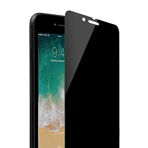 iPhone 8 / 7 Screen Protector Privacy, Magicmoon Anti-Spy Tempered Glass for iPhone 8/7 4.7 Inch, - Face For Glasses The Right My
