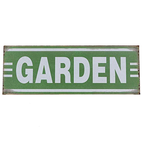 - Barnyard Designs Garden Retro Vintage Tin Bar Sign Country Home Decor 13.75