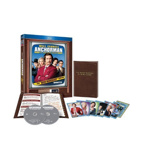 Anchorman: The Legend of Ron Burgundy (Unrated Rich Mahogany Edition) [Blu-ray] by Dreamworks Video
