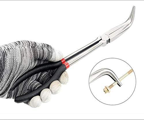 CHENBIN-BB (:ブラック、サイズ:11インチカラー)家庭用屋外マルチファンクション斜め多機能5ロング鼻のラジオペンチセット11インチに適し