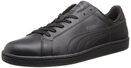Black Men's Leather Dark PUMA Classic Sneaker Shadow Smash ngzwxHdx6