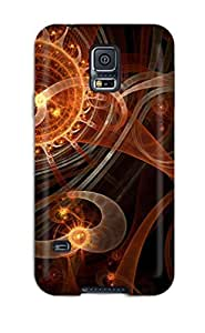Excellent Design Fractal Curves Case Cover For Galaxy S5