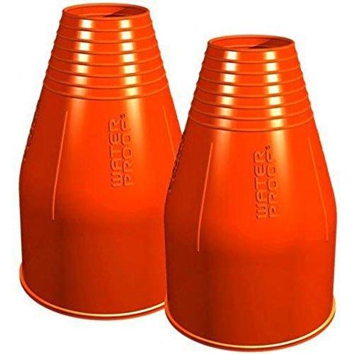 Waterproof Silicone Wrist Seal, Orange by Waterproof