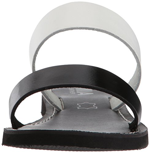 Mia Femmes Nila Diapositive Sandale Noir / Blanc