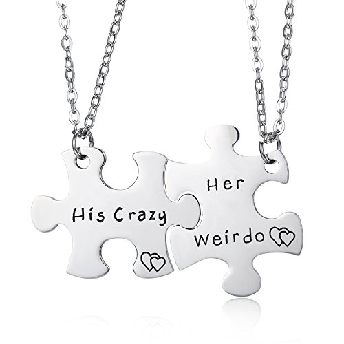 Best puzzle necklace for couples to buy in 2019