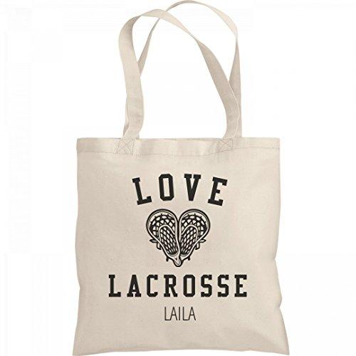Love My Lacrosse Player Laila: Liberty Bargain Tote (Laila Tote)