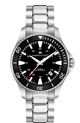 Hamilton H82335131 Silver 40mm Stainless-Steel Khaki Navy Scuba Auto Mens Watch