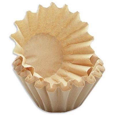 700x kleine Kaffee-Korbfilter braun 80//200 Filter f/ür K-Maschinen mit Mahlwerk wie Beem etc.