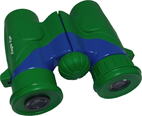 A Bug's Life Costume Ideas (Shock Proof, Waterproof, 6x21 Kids Binoculars, Wrist Strap, and Case. Use for Bird Watching, Learning, Stargazing, Hunting, Hiking, Sports, Games, Outdoor Adventure for Boys and Girls. Color: Green)