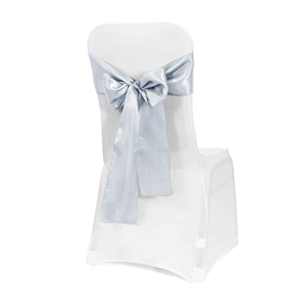 Fabulous Obstal 50 Pcs Satin Chair Sashes Bows For Wedding Reception Universal Chair Cover Back Tie Supplies For Banquet Party Hotel Event Decorations Alphanode Cool Chair Designs And Ideas Alphanodeonline