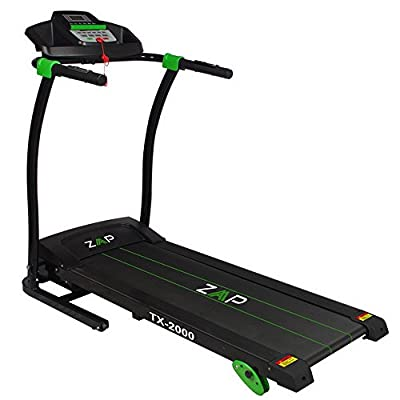 ZAAP TX2000 1100W Pro Motorized Electric Treadmill with Adjustable Manual Incline