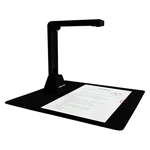 VIISAN USB Document Camera Scanner 13 Mega pixels CMOS High Definition Auto-Focus Visual Presenter for Classrooms,Libraries,Demonstration A4 Size by VIISAN