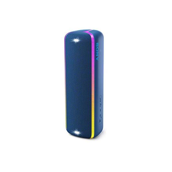 Sony SRS-XB32 Enceinte Portable Bluetooth Extra Bass Waterproof avec Lumières - Bleu 3