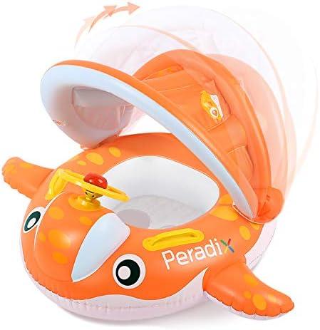 Peradix Flotador para bebé 6meses-3 Años Barco Inflable Flotador ...
