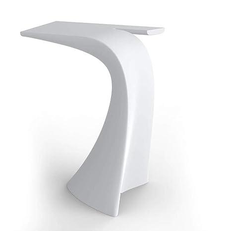 Vondom Wing mesa alta de exterior 100 cm blanco: Amazon.es ...