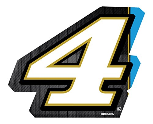 Harvick Photo (Kevin Harvick #4 Jumbo Number Decal)
