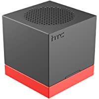 HTC ST A100 Boombass Bluetooth Speaker - Retail Packaging - Black/Orange
