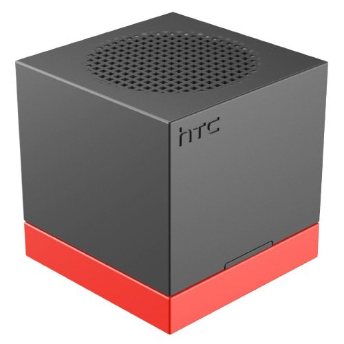 (HTC ST A100 Boombass Bluetooth Speaker - Retail Packaging - Black/Orange)