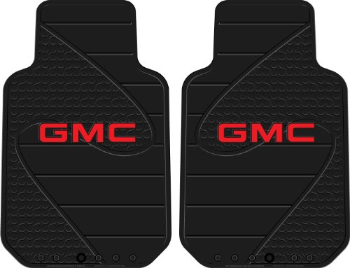 Plasticolor 001457R01 GMC Factory Floor Trim-to-Fit Left and Right Universal Floor Mat - Set of (Gmc Floor)