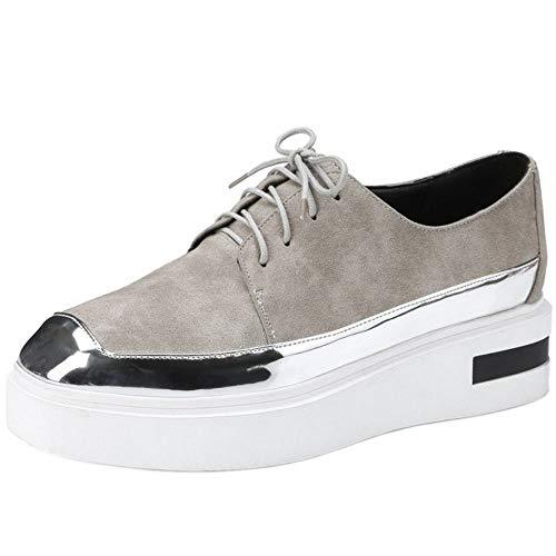 Mode Elégant Printemps Formateurs Chaussures Décontractée Plate Taoffen Kaki Femmes 7 forme 5qUOfgw