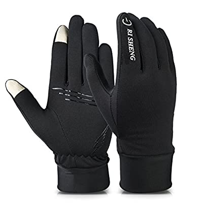 Ri Sheng Winter Touch Screen Gloves Outdoor Cycling Gloves For Men And Women