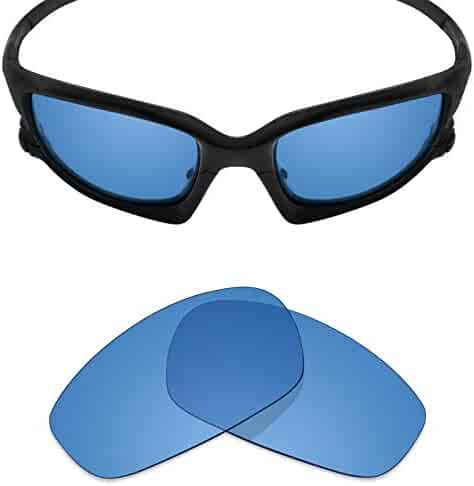 60f2b7dc4d1 Mryok Polarized Replacement Lenses for Oakley Wind Jacket - HD Blue
