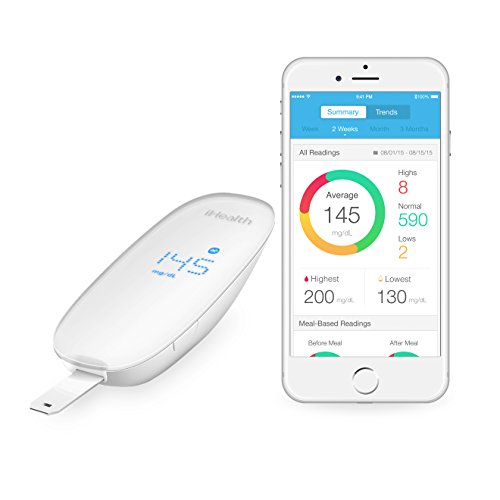 iHealth Wireless Smart Glucometer for Apple and Android