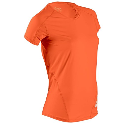 SUGOi Women's Jackie N'Ice Short Sleeve Tee, Marigold, Small