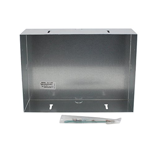 Lithonia Lighting Ela-Erk Rough In Kit For Recessed Exits Signs, 18 Gauge, Galvanized Steel Construc