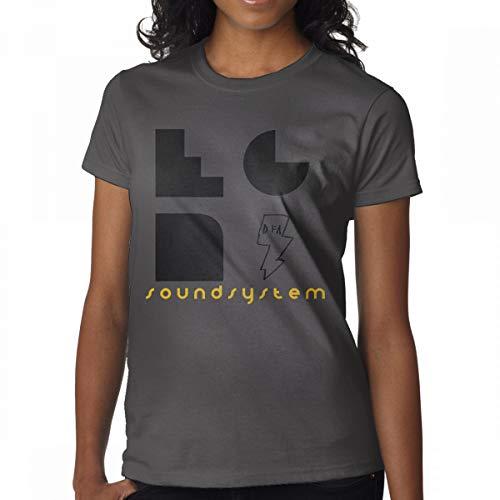 Price comparison product image Avis N Women's LCD Soundsystem T Shirts Deep Heather L