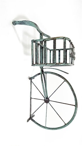 - Blue Bicycle Front End Basket Decor