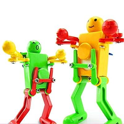 VANTIYAUS Novelty Clockwork Toy (3 Packs) Wind-up Toy Clockwork Spring Toy Funny Dancing Robot for Children Kids Baby Toy Xmas Gift