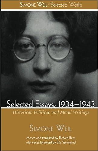 simone weil essays