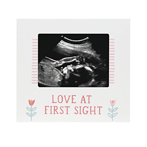 Pearhead Sonogram Frame, Girl, Pink (Baby Nursery Wall Art)