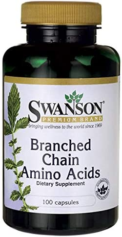 Swanson Branched-Chain Amino Acids 100 Capsules