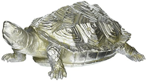 Pewter Turtle - Howard Elliott 12151 Turtle Figurine, Textured Pewter