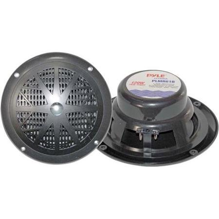 Hydra Series Marine (Pyle Plmr61b Hydra Series 120-watt 6.5 2-way Marine Speakers - Black)