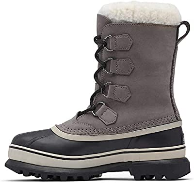 Sorel Women's Caribou Boot (Women's 9.5 Medium, Shale/Stone)