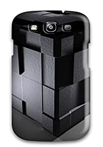 Hot New Cube 3d Case Cover For Galaxy S3 With Perfect Design