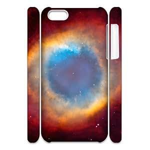 3D IPhone 5C Case Eye of God Nebula, [White]