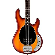 Sterling by Music Man S.U.B. Series Ray4 StingRay Bass, Honey Burst Satin